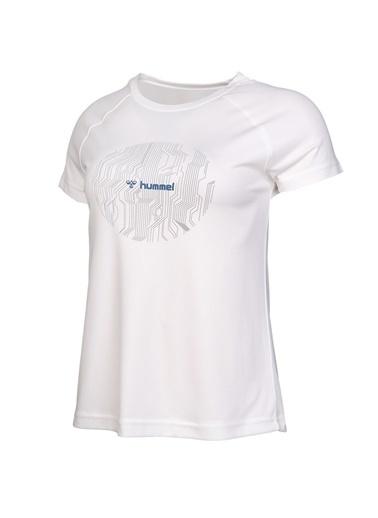 Hummel Kadın Tişört Elvi 910970-9003 Beyaz